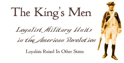 The king s men loyalist units in new york and north america
